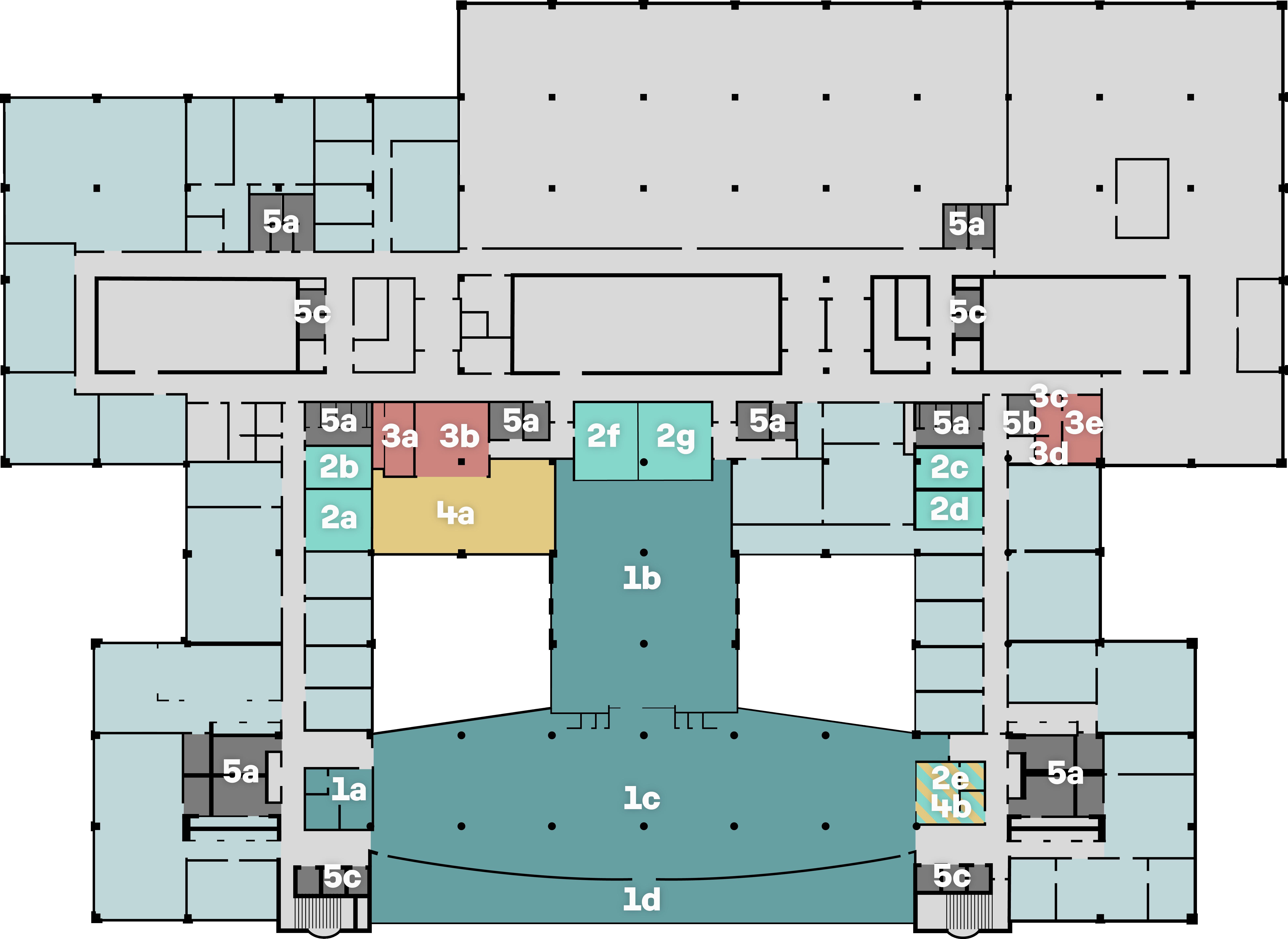 Grundriss 5th Floor Basel